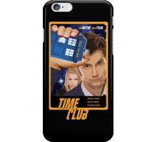 Time Club   Doctor Who   The Tenth Doctor & Rose Tyler iPhone Case/Skin