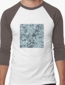 From Above Comic Men's Baseball ¾ T-Shirt