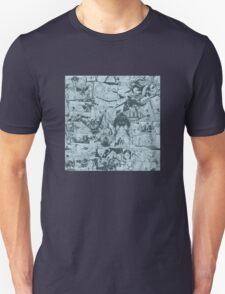 From Above Comic Unisex T-Shirt