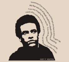 huey p. newton by dirtycitypigeon