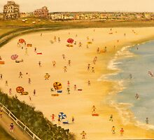 Bondi Beach Australia. Naïve Australiana; EJCairns; Original Sold  by EJCairns