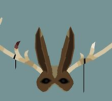 The Jackalope Mask by feztivus