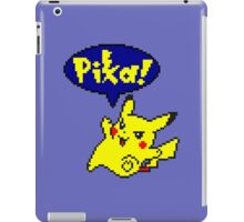 Pika Pikachu - Pokemon Yellow Version iPad Case/Skin