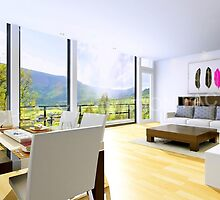 3D Interior Rendering Services by 3D-Animation