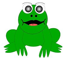 Green Frog Design by biglnet