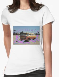 Coachella Bus Womens Fitted T-Shirt