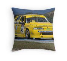 Highway yellow Throw Pillow