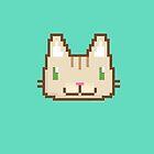 Pixel Kitty by Nate Bear