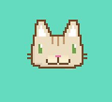 Pixel Kitty by Nate Bear