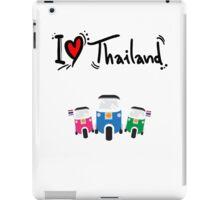 I LOVE THAILAND TUK TUK iPad Case/Skin