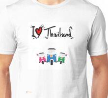 I LOVE THAILAND TUK TUK Unisex T-Shirt