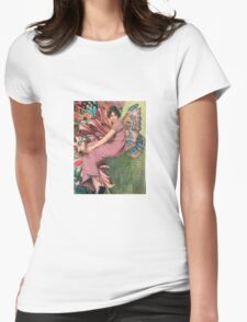 Burst Womens Fitted T-Shirt