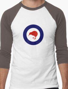 Roundel of New Zealand Air Force  Men's Baseball ¾ T-Shirt