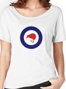 Roundel of New Zealand Air Force  Women's Relaxed Fit T-Shirt