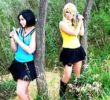 Female Spock and Kirk Prowling by 324heathers