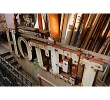 hotel salvage Photographic Print