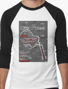 The Gaslight Anthem Get Hurt Tour Poster  Men's Baseball ¾ T-Shirt
