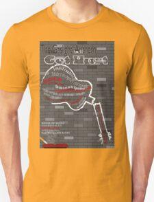 The Gaslight Anthem Get Hurt Tour Poster  T-Shirt