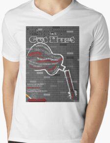 The Gaslight Anthem Get Hurt Tour Poster  Mens V-Neck T-Shirt
