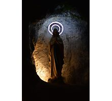 Our Lady of Lourdes Grotto Photographic Print