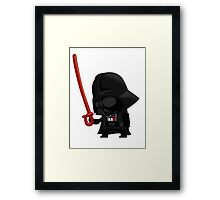 Darth Vader's Disappointment Framed Print