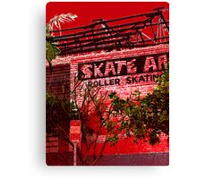 red hill 9 Canvas Print