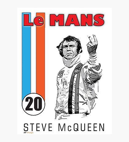 STEVE McQUEEN LE MANS Photographic Print