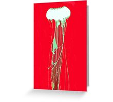 Red Sea Nettles Greeting Card