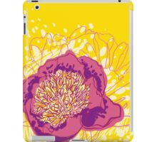 peony flowers iPad Case/Skin