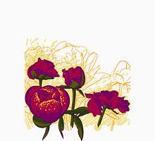 peony flowers Unisex T-Shirt