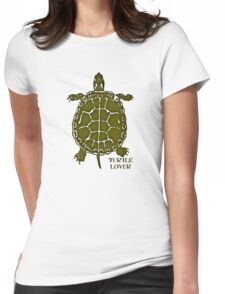 Turtle Lover Womens Fitted T-Shirt