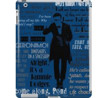 Eleventh hour iPad Case/Skin