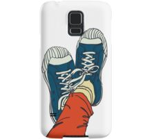 colored pattern gym shoes Samsung Galaxy Case/Skin