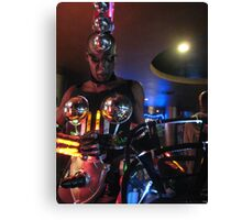club robot Canvas Print