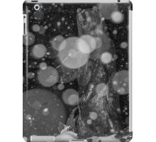 Spirit Bear in Snowstorm iPad Case/Skin