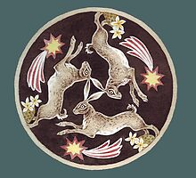 Tinner's Hares by threebrownhares