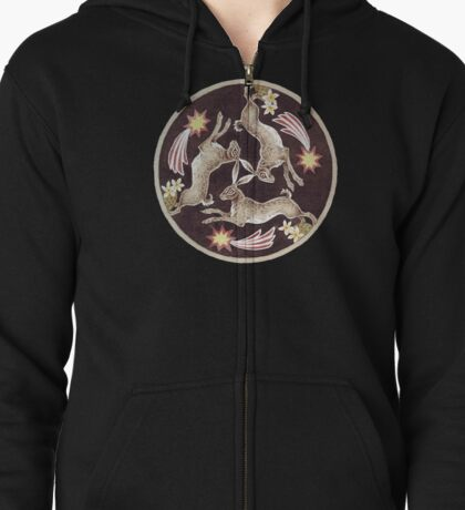 Tinner's Hares Zipped Hoodie