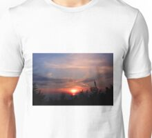 BEAUTIFUL SUNSET PICTURE AND OR CARD Unisex T-Shirt
