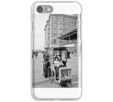 Dolly's go-cart, Atlantic City, New Jersey, 1905 iPhone Case/Skin