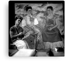 I Can't Resist this Portrait of Frida Kahlo Canvas Print