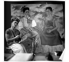 I Can't Resist this Portrait of Frida Kahlo Poster
