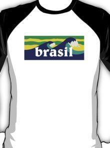 Brasil waves ondas surf T-Shirt