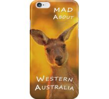 Kangaroo - MAD About Western Australia (iPhone Case) iPhone Case/Skin
