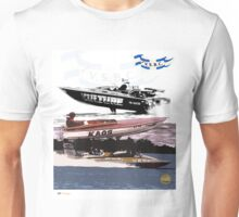 Victorian Speed Boat Club Art Unisex T-Shirt
