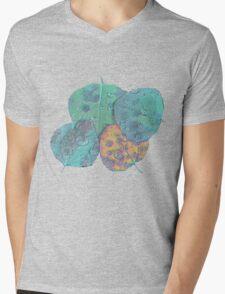 Psychedelic Fall Mens V-Neck T-Shirt