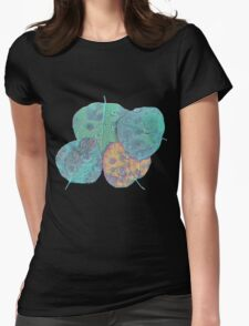 Psychedelic Fall Womens Fitted T-Shirt