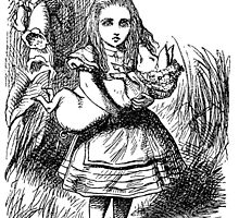 Alice and the Baby Pig  by lyricallyinclin