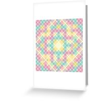 Abstract Geometric Ornament Greeting Card