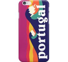 Portugal Surfing Waves iPhone Case/Skin