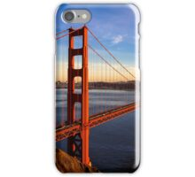 SF Golden Gate Bridge at Sunset iPhone Case/Skin